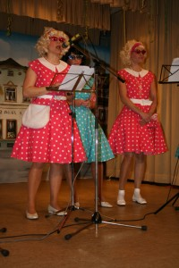 Gesang im Dörfle kommt entgegen landläufiger Meinung auch von weiblichen Mitgliedern.